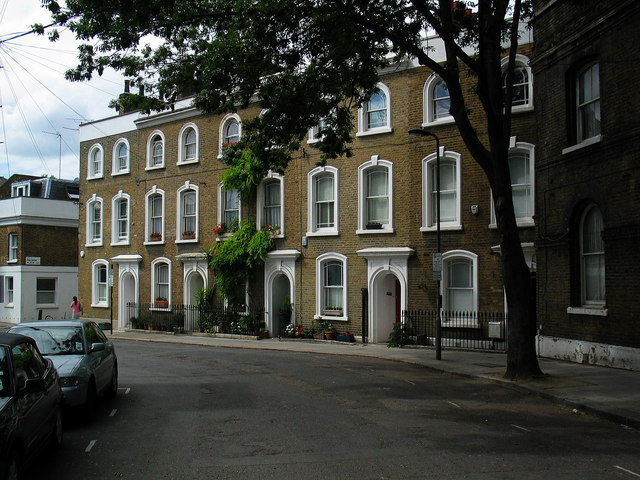 Bonny Street Terrace, Camden Town, London